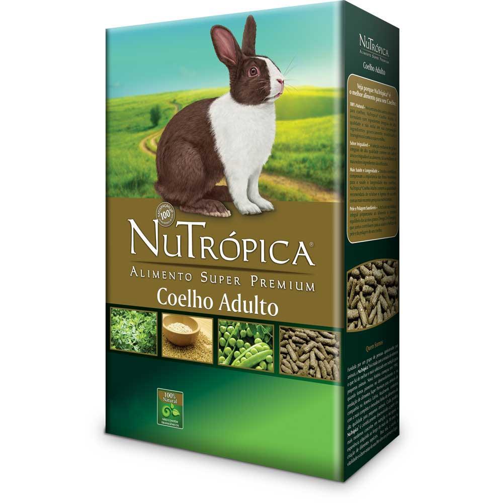 Nutrópica para Coelhos Adultos 1,5kg