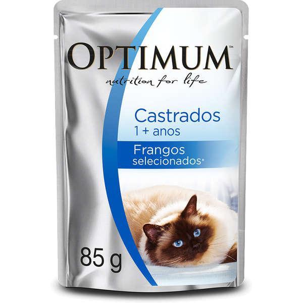 Opitimum Cat Sache Frango Castrado 85g