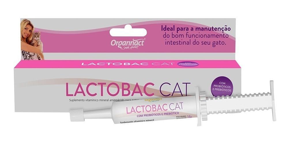 Organnact Lactobac Cat 16g