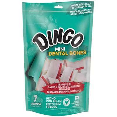 Osso Dingo Dental Bone Nó Mini Extra Small Com 7
