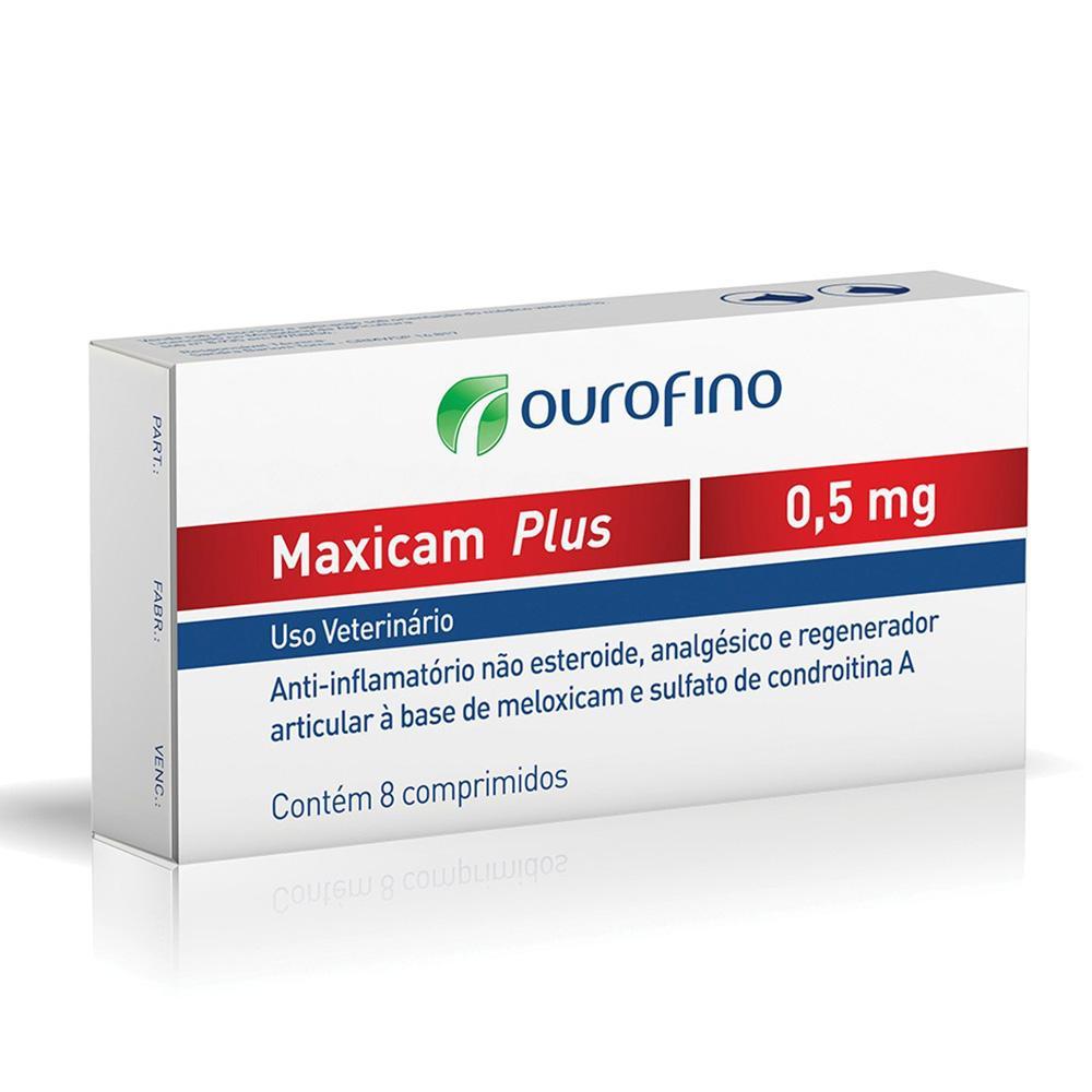 Ouro Fino Maxicam Plus Caixa 8 Comprimido