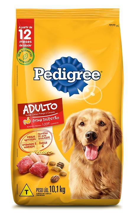 Pedigree Carne/Frango/Cereais
