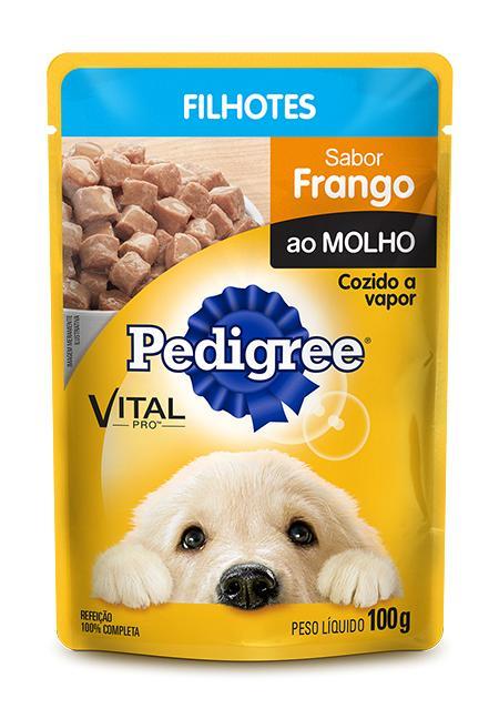Pedigree Sache Frango Ao Molho Junior 100g