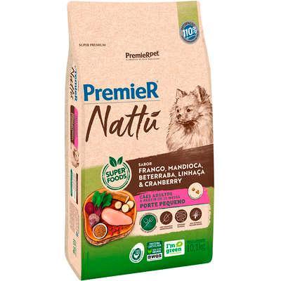 Premier Nattu Adultos Fra/Abo/Bro/Qui/Blu 12kg