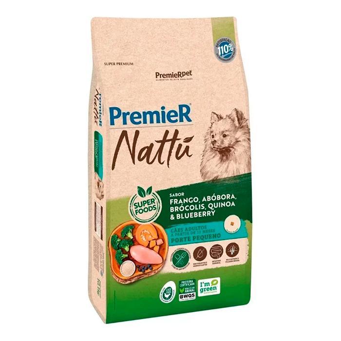 Premier Nattu Pequeno Porte Fra/Abo/Bro/Qui/Blu