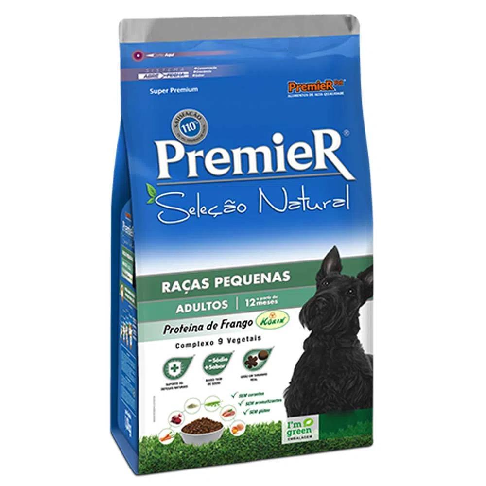 Premier Seleção Natural Cães Adultos Raças Pequenas Frango