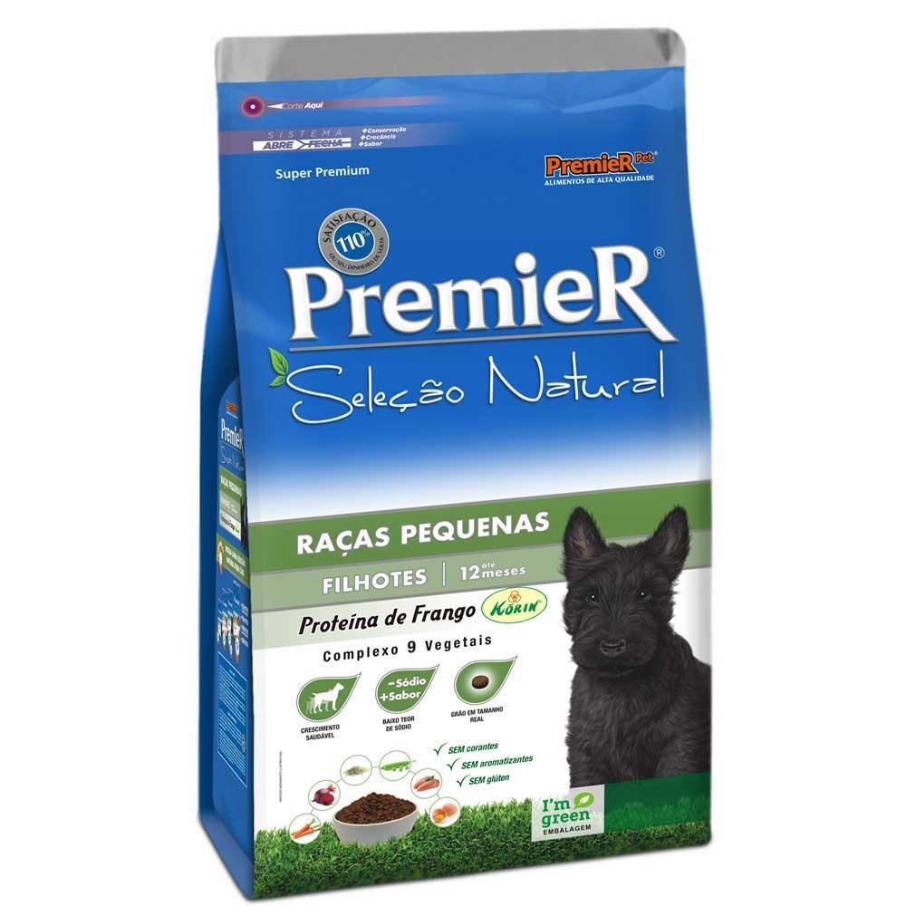 Premier Seleção Natural Cães Filhotes Raças Pequenas Frango