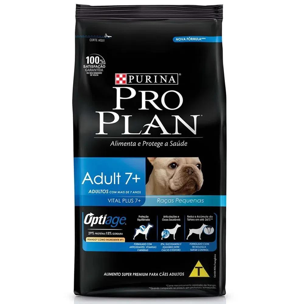 Proplan Dog Adult 7+ Raças Pequenas