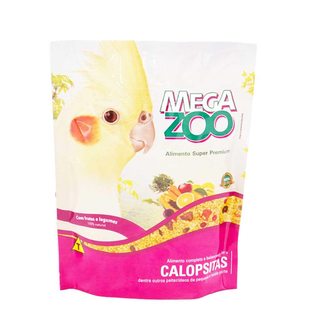 Ração Megazoo Calopsitas 350g