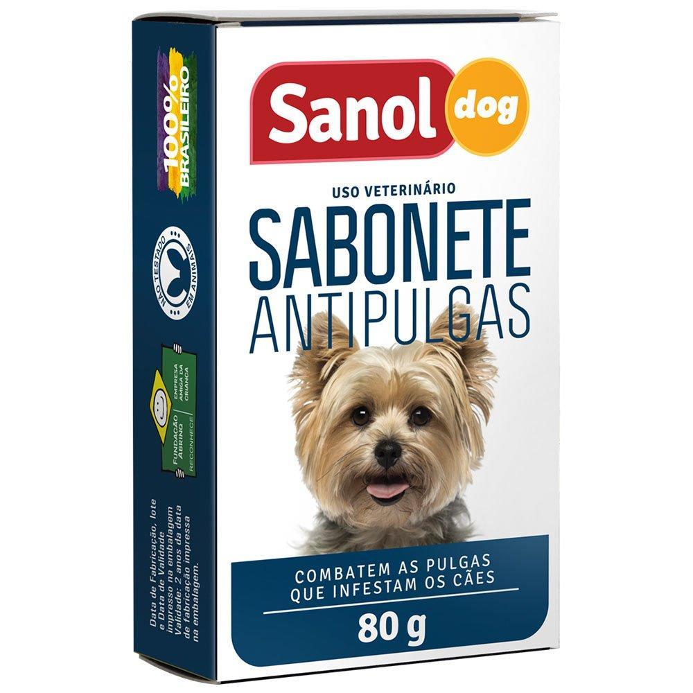 Sabonete Sanol Antipulgas 80g