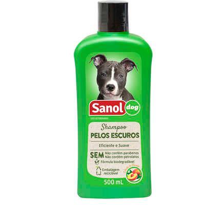 Sanol Shampoo Pelos Escuros