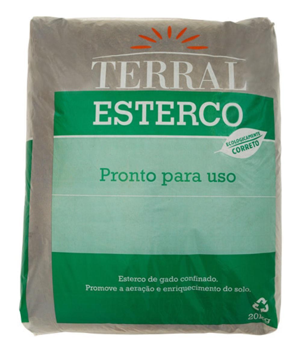 Terral Esterco De Gado 20kg
