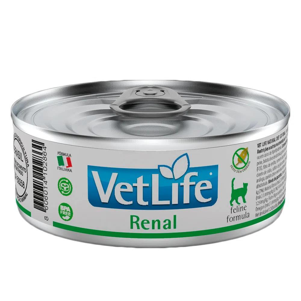 Vet Life Wet Lata Gatos Renal 85g