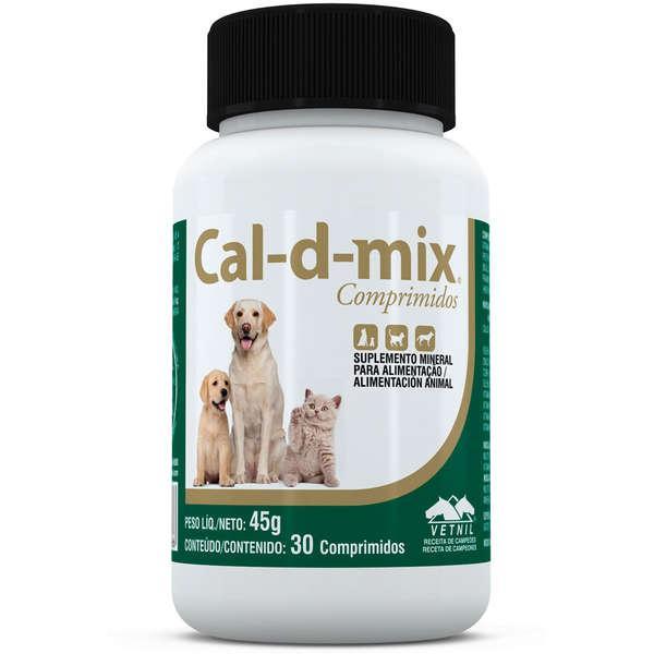 Vetnil Cal-D-Mix - 30 Comprimidos