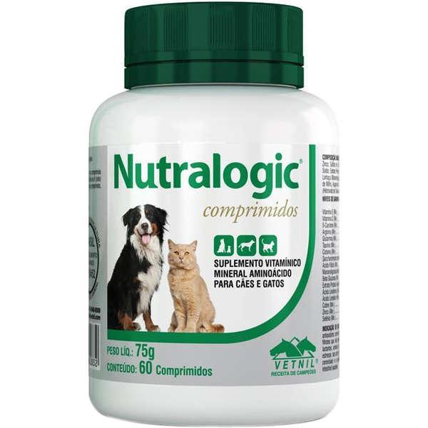 Vetnil Nutralogic Suplemento - 60 Comprimidos