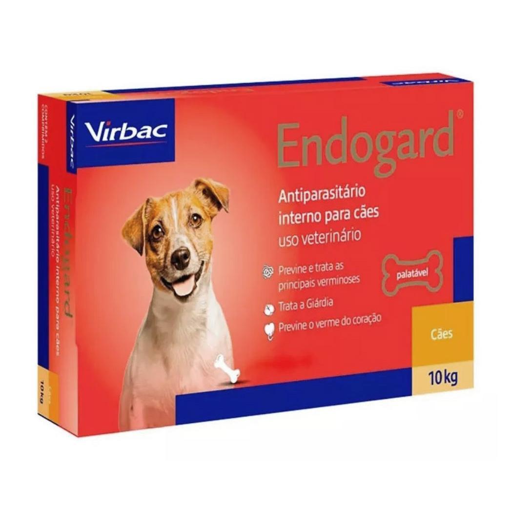 Virbac Endogard Cães - 6 Comprimidos