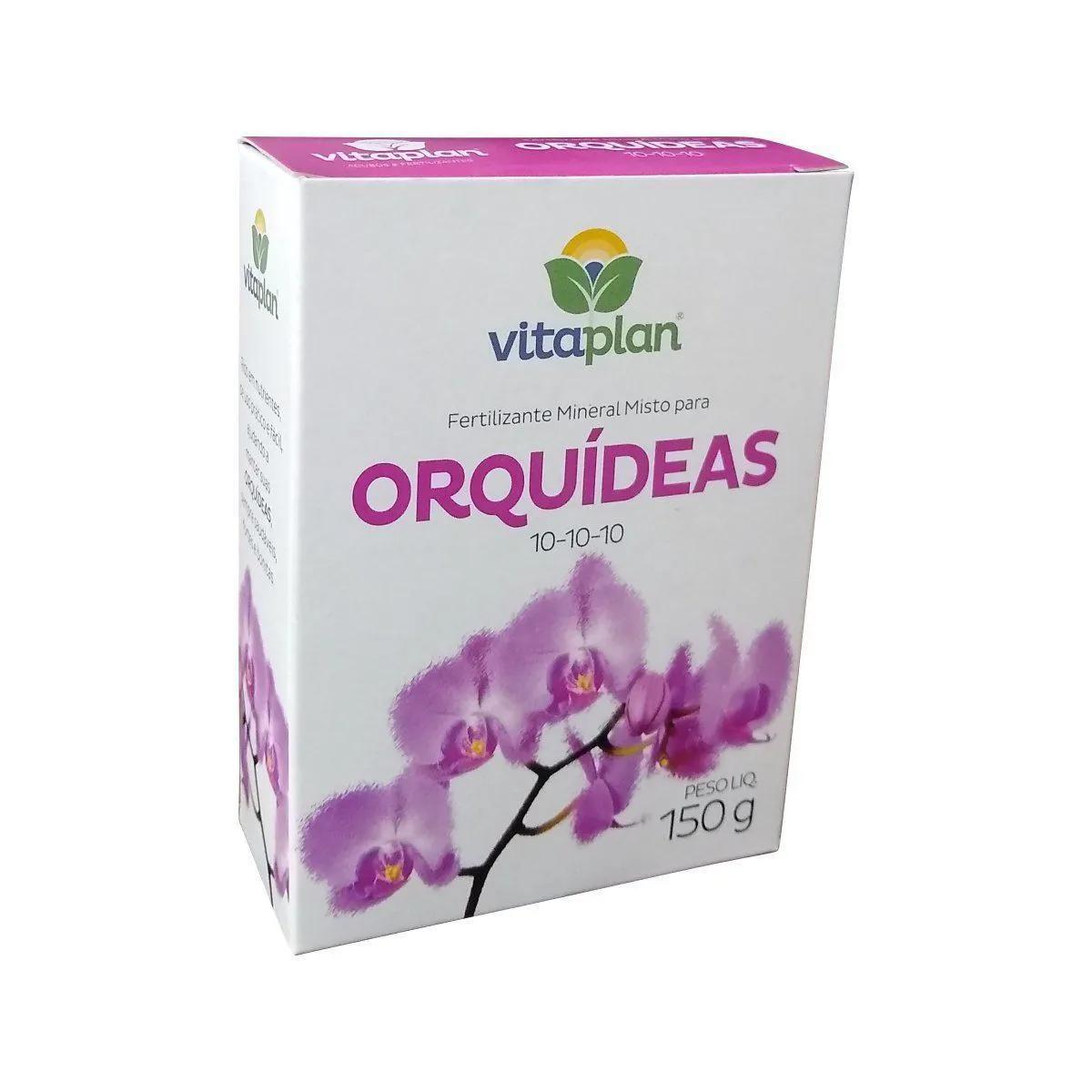 Vitaplan Fertilizante Para Orquídias 150g