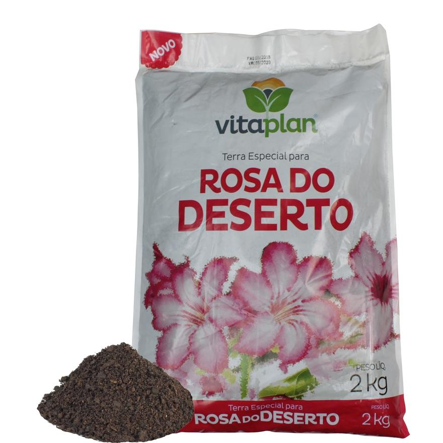 Vitaplan Terra Especial Rosa Do Deserto 2kg