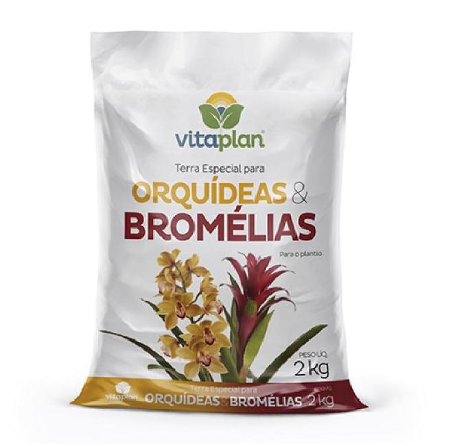 Vitaplan Terra Para Orquídeas e Bromélias 2kg