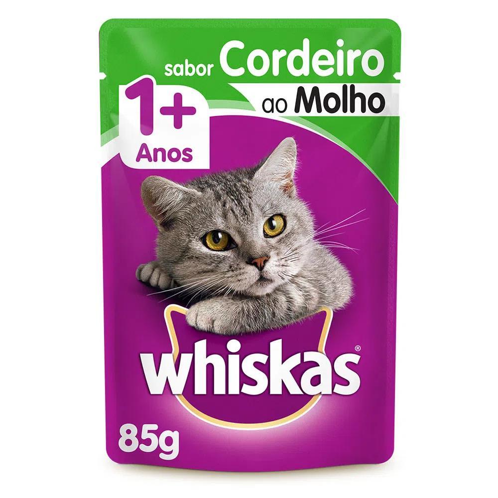 Whiskas Sachê Cordeiro Ao Molho 85g