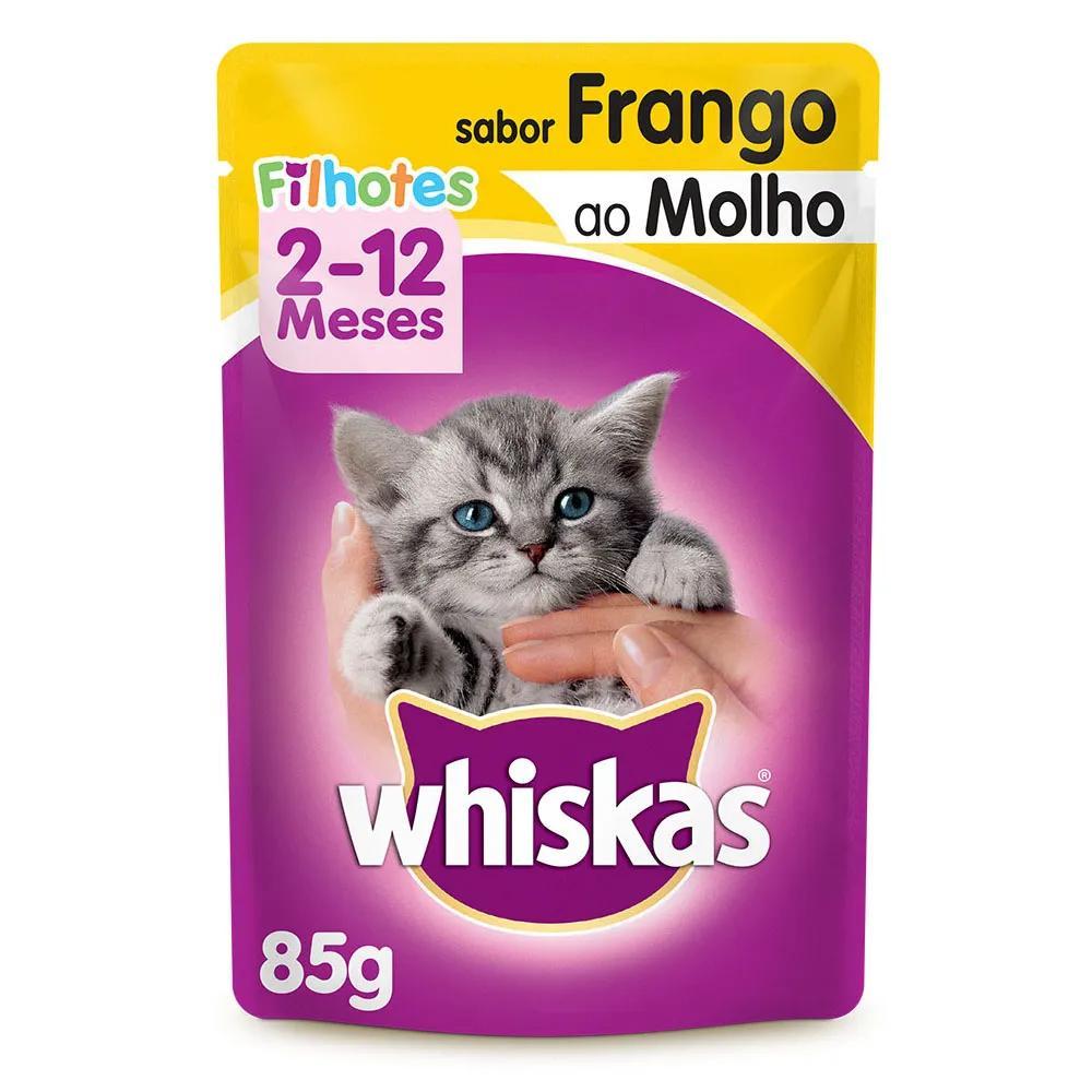Whiskas Sachê Filhote Frango Ao Molho 85g