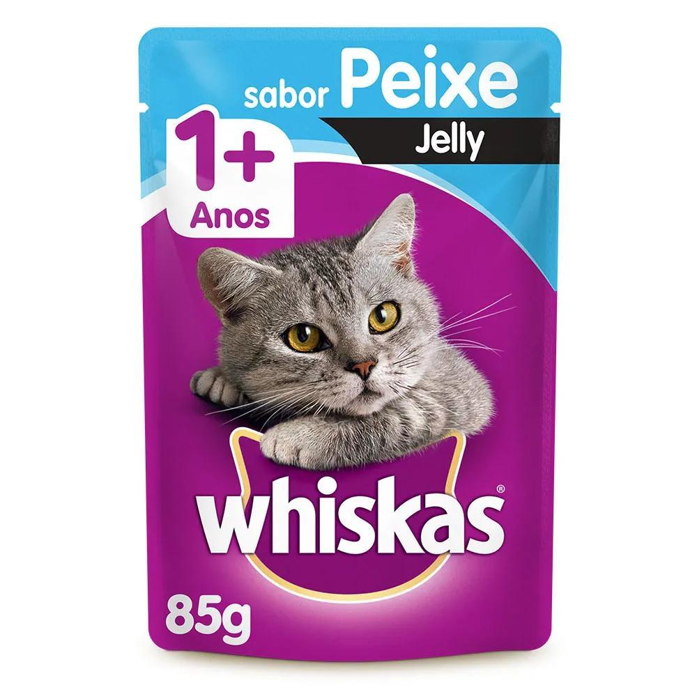 Whiskas Sachê Jelly Peixe 85g