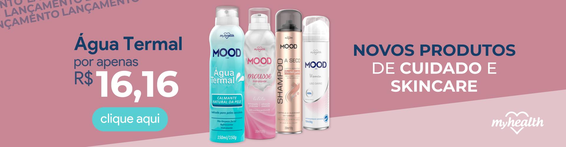 Água Termal e novos produtos de cuidados com a pele e skincare.