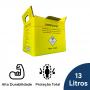 Coletor Perfuro Cortante Amarelo Grandesc - 13L