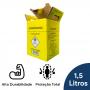 Coletor Perfuro Cortante Amarelo Grandesc - 1,5L