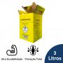 Coletor Perfuro Cortante Amarelo Grandesc - 3L