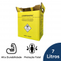 Coletor Perfuro Cortante Amarelo Grandesc - 7L