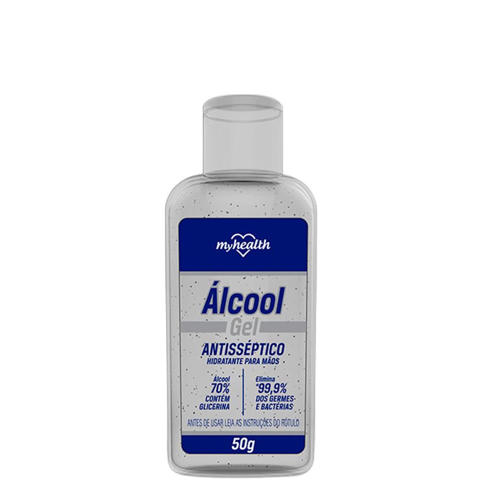 Álcool Gel Antisséptico 70% 50G MyHealth