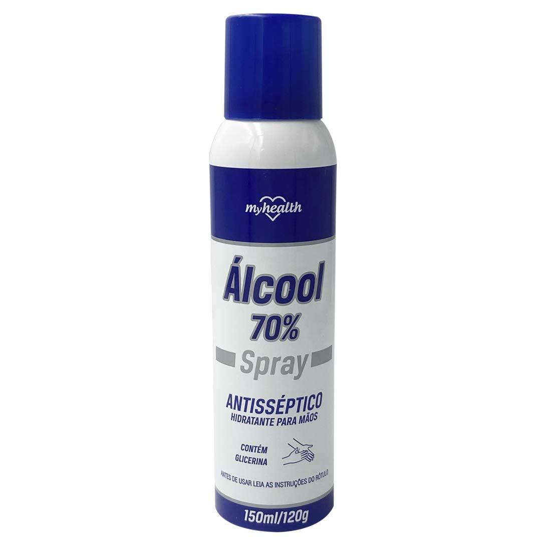 Álcool Spray Antisséptico 70% 150ML MyHealth