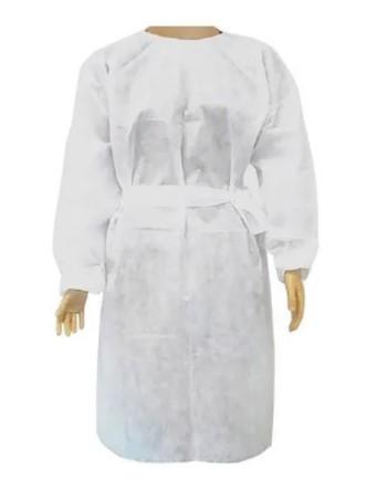Avental Descartável Protech Branco MG/LG