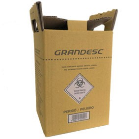 Coletor Perfuro Cortante Grandesc - 3L