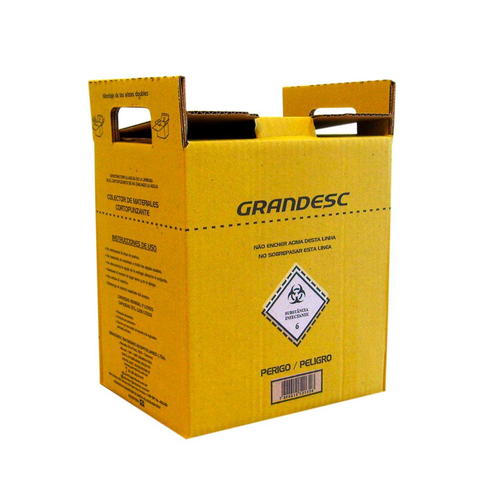 Coletor Perfuro Cortante Grandesc - 7L