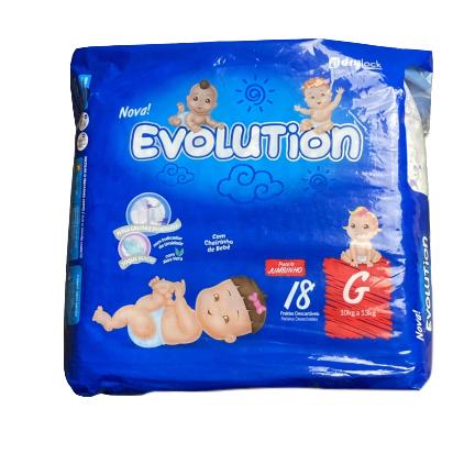 Fralda Desc. Infantil G Evolution