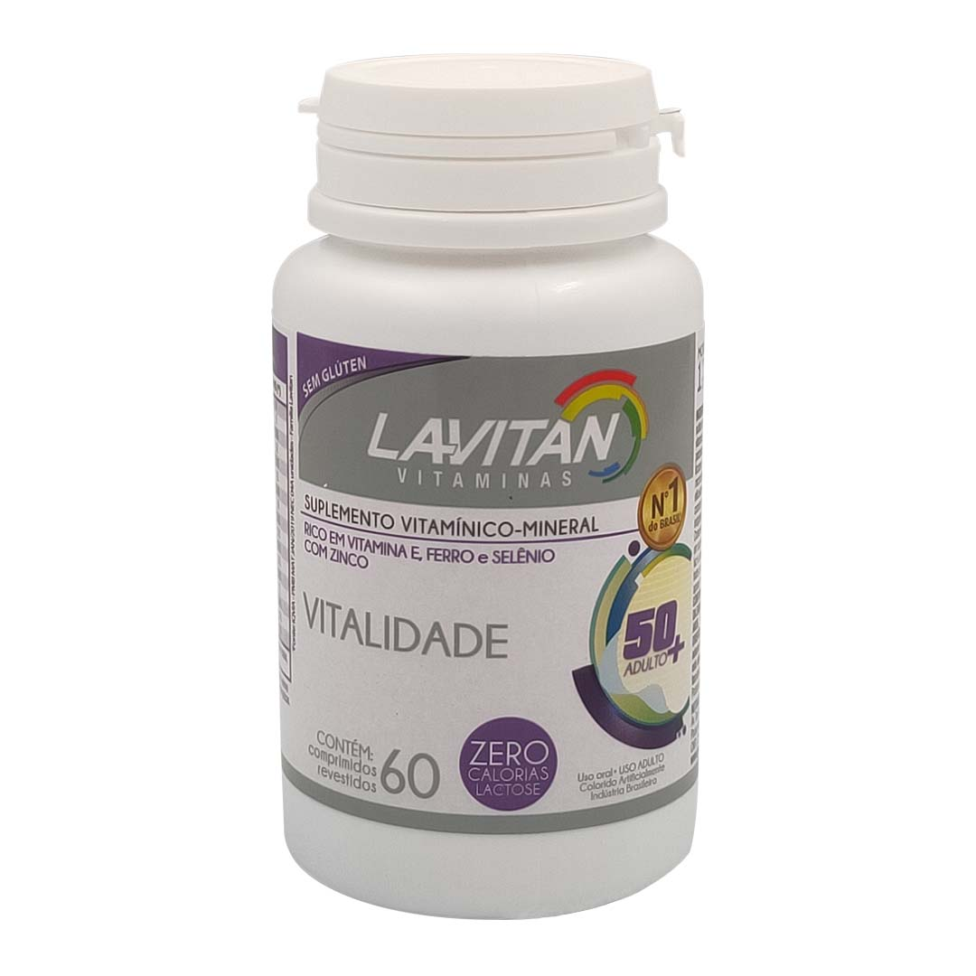 Lavitan Vitalidade 60 Comprimidos