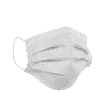 Máscara Descartável Tripla C/Elástico Grandesc 50Uni