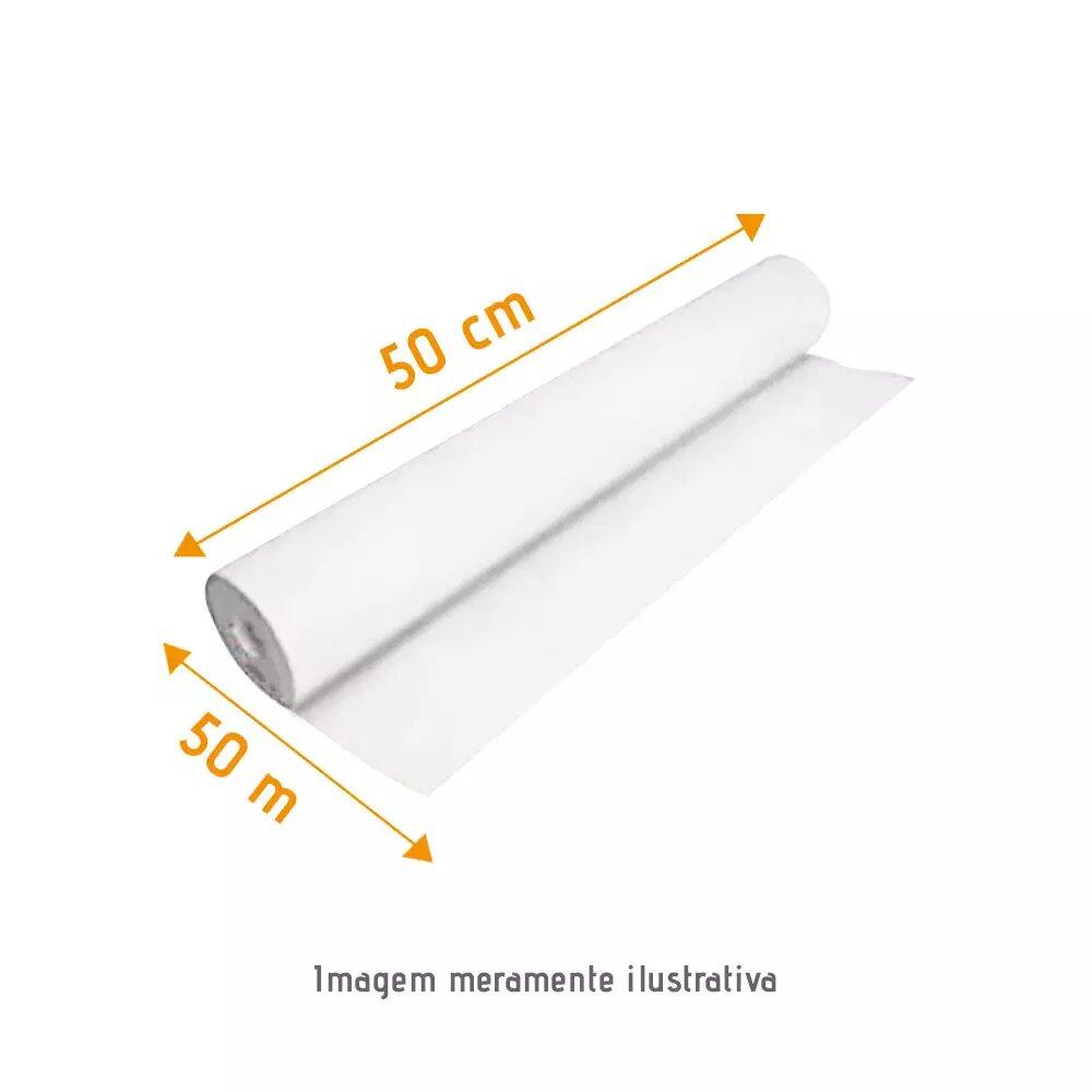 Papel Lençol Luxo Branco 0,50 x ,050 Grandesc
