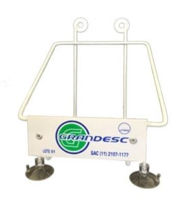 Suporte P/Coletor 13 Litros C/Ventosa