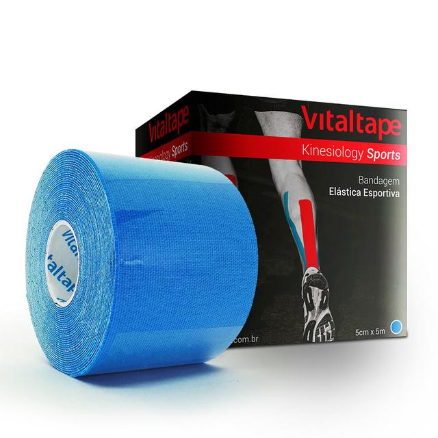 VitalTape Sports Kinesiology 5cm x 5m Azul