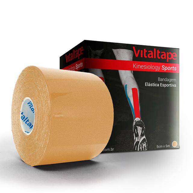 VitalTape Sports Kinesiology 5cm x 5m Bege