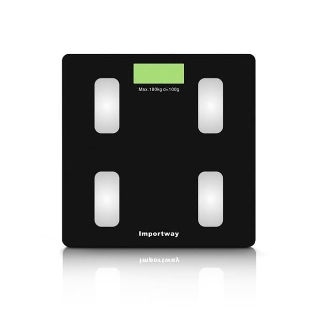 Balança Digital Bioimpedância Bluetooth 180kg IWBDBIO-001APP Importway