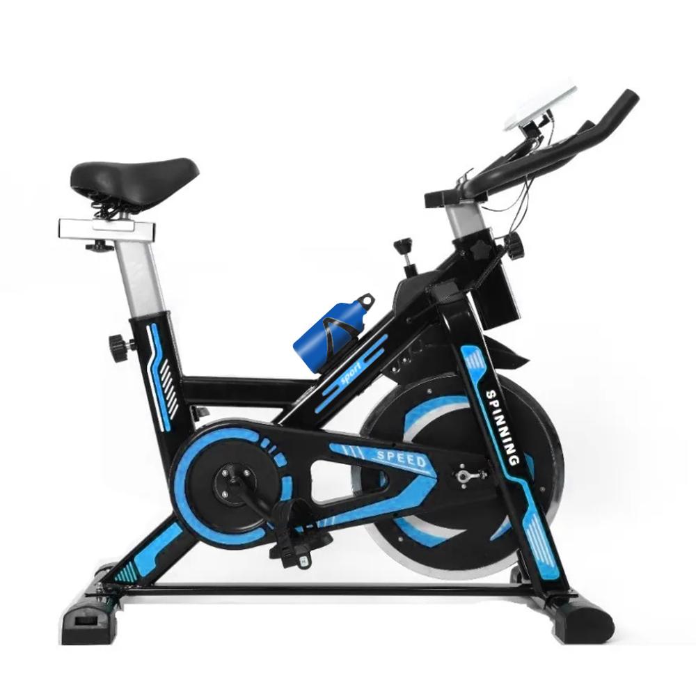 Bicicleta Ergometrica Spinning ate 120kg Mecanica Azul NSP8 GTA Tech