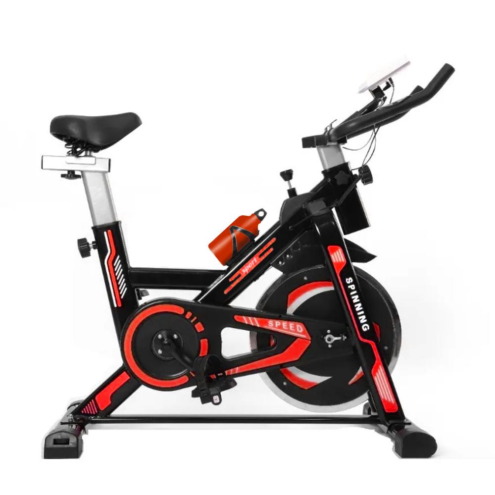Bicicleta Ergometrica Spinning ate 120kg Mecanica Vermelha NSP8 GTA Tech