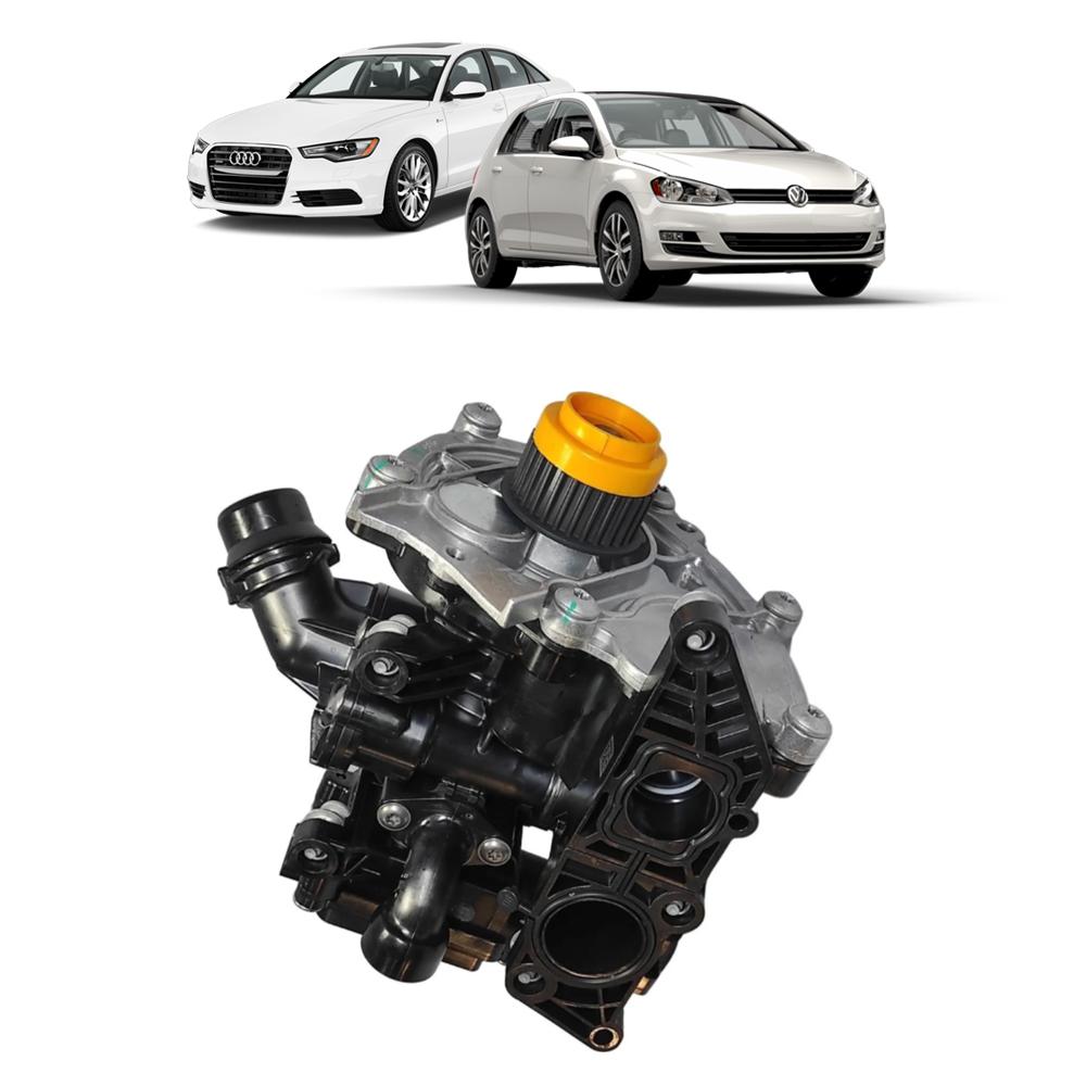 Bomba d Agua Audi / Porsche / VW C/ Sensor e Válvula  SWP030H1 Starke