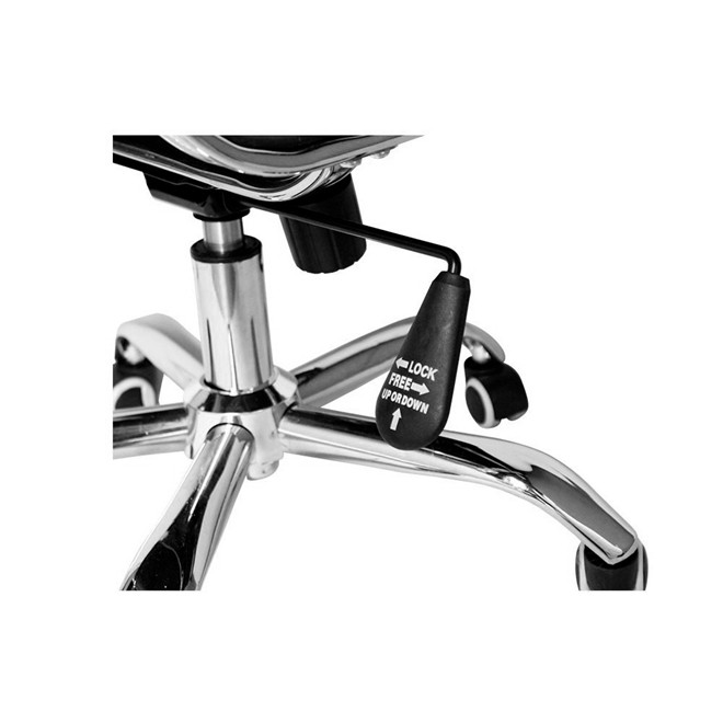 Cadeira de escritorio para presidente - esteirinha - preta iwcpe 001 importway