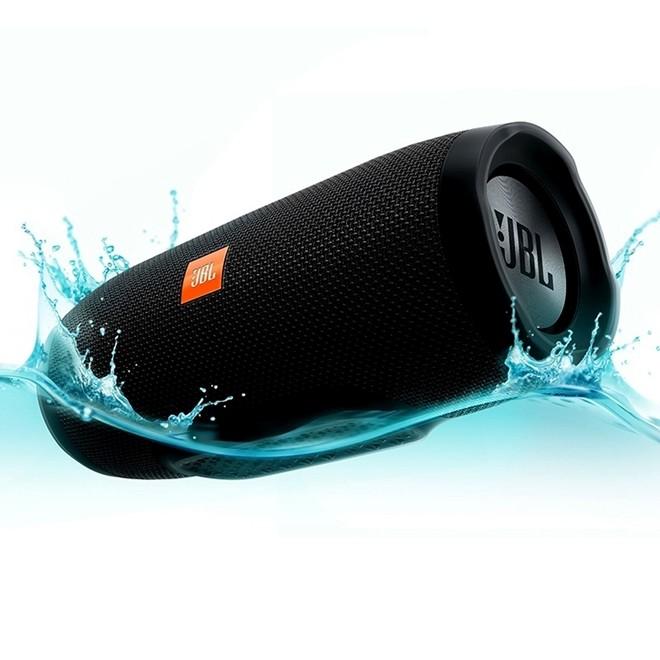 Caixa de Som JBL Charge 3 20w Bluetooth Prova D Agua Preto  JBL