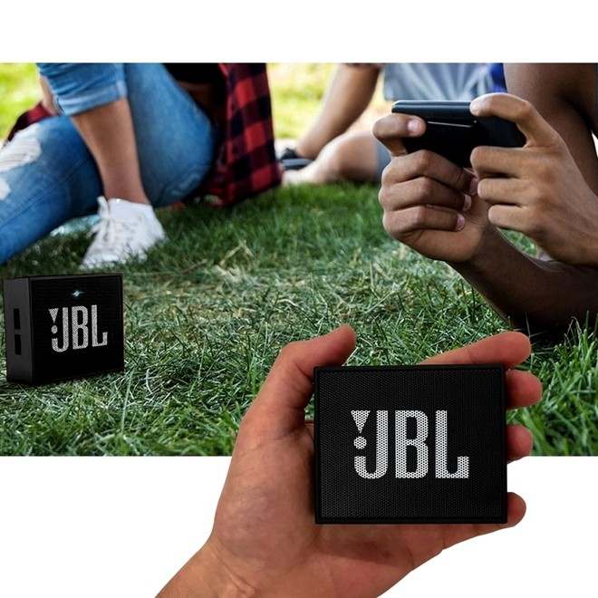 Caixa De Som Jbl Go Bluetooth Preto 3w Rms Jbl